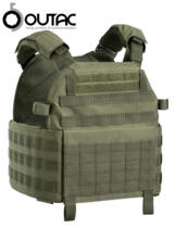 OUTAC INFANTRY VEST CARRIER CORDURA 1000D OD GREEN