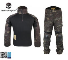 EMERSON UNIFORME COMBAT GEN-2 MULTICAM BLACK
