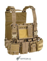 DEFCON 5 RECON HARNESS 1000D COYOTE TAN