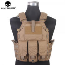 EMERSON GEAR TACTICAL VEST 094K M4 STYLE COYOTE BROWN