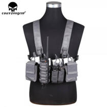 EMERSON GEAR D3CR TACTICAL CHEST RIG WOLF GRAY