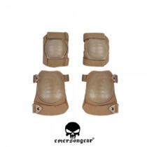 EMERSON SET GINOCCHIERE E GOMITIERE COYOTE BROWN