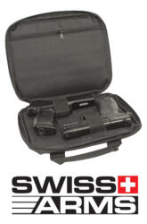 CUSTODIA IN TECNOCORDURA SWISS ARMS CON VANO PER 2 PISTOLE