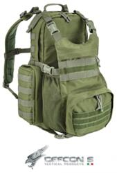 DEFCON 5 ZAINO MILITARE  MODULAR BACK PACK MOLLE SYSTEM GREEN MILITARY