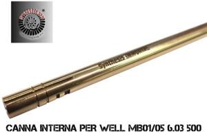 SYNTHESIS CANNA INTERNA 6.03mm 500mm PER MB01/05