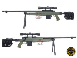 SNIPER ELITE MB4415 VERDE OD NEW FULL KIT