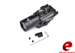ELEMENT TORCIA LED E LASER X400 BLACK