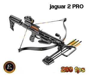 EK BALESTRA JAGUAR II PRO BLACK - 260fps FULL KIT NEWS