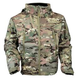 JS-TACTICAL GIACCA SOFT SHELL SHARK SKIN MULTICAM