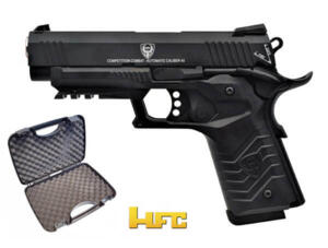 HFC 1911 TACTICAL PISTOL FULL METAL SCARRELLANTE  BLACK