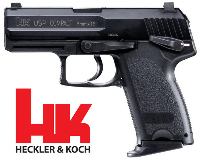 UMAREX HK USP COMPACT BLOW BACK METAL BARREL