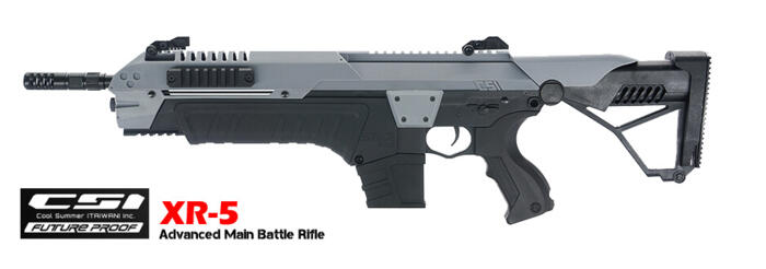 CSI XR-5 MILITARY ADVANCED MAIN BATTLE RIFLE GREY