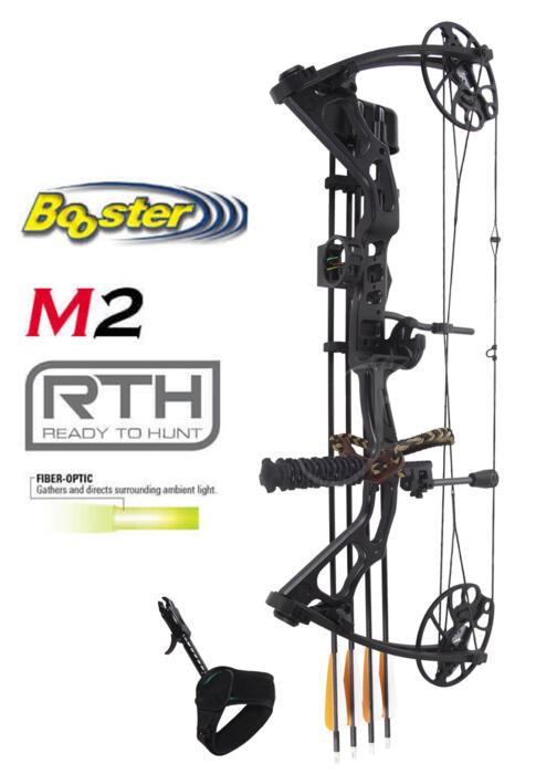BOOSTER ARCO COMPOUND M2 READY TO HUNT 15-70 LBS BLACK